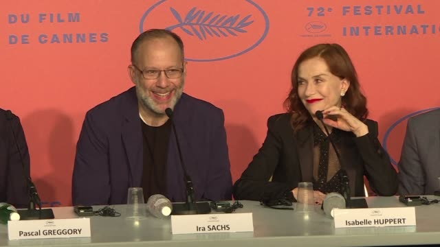 with frankie us director ira sachs brings isabelle huppert brendan gleeson and marisa tomei to the cannes competition in a film about three... - 72nd international cannes film festival stock videos and b-roll footage