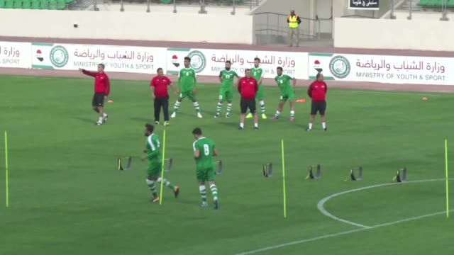 with his social media campaign welcoming saudi arabia's football team to iraq greens you're at home arkan taqi has broken a taboo in his hometown... - bassora video stock e b–roll