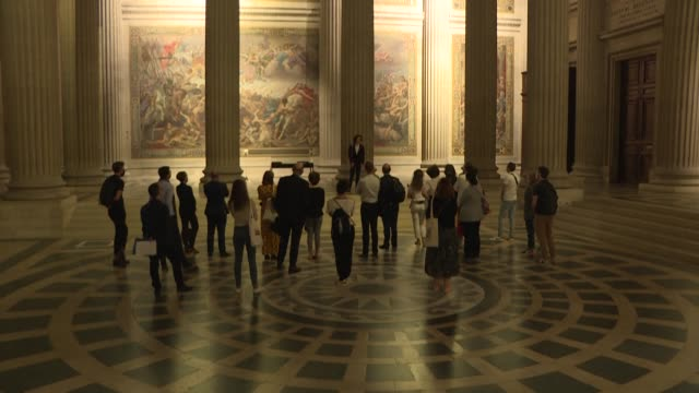 with its crypt and sepulchres, the pantheon is not exactly the kind of monument where you come to listen to songs - crypt stock videos & royalty-free footage