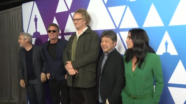 With just two days to go before the Oscars the nominees for best foreign language film gather at the Academy and reflect on the platform the...