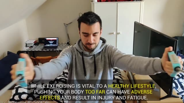 with more time than ever on our hands for many it is tempting to begin a new and sometimes intense exercise regime, experts warn you must be careful... - pilates stock videos & royalty-free footage