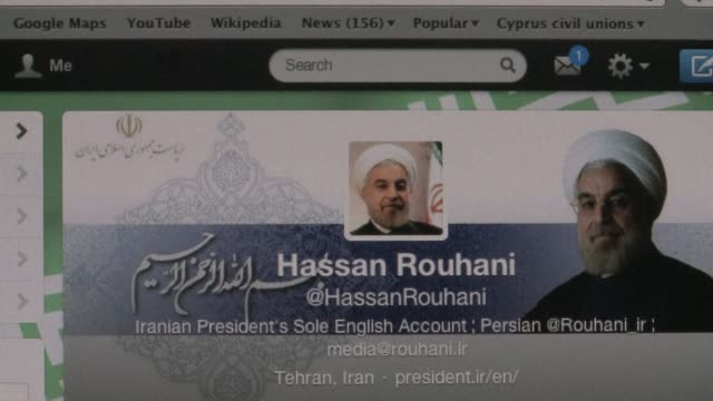 With nuclear talks due to resume in Geneva this week Iran President Hassan Rouhani took to his twitter page to comment on the last round of talks...