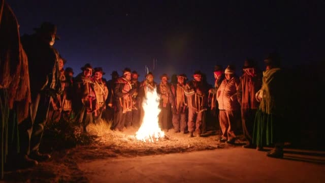 BOL: Bolivian llama herders celebrate Andean and Amazonian New Year