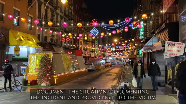 with the recent uptick in asian-american hate crimes, it's important to know how to react if a situation arises. - asian and indian ethnicities stock videos & royalty-free footage