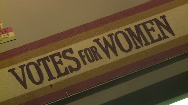 With the UK marking 100 years since women won the right to vote on 6 February the Museum of London is holding an exhibition of historic artefacts...