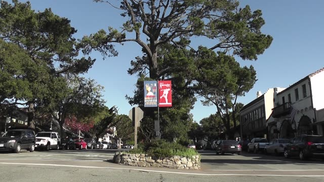 with traffic. - carmel california stock videos & royalty-free footage