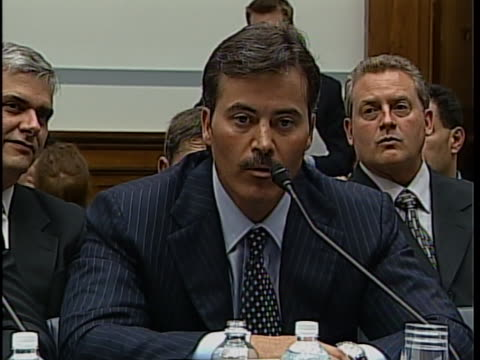 of witnesses schilling, palmeiro, mcgwire, sosa, and canseco, among others palmeiro former major league baseball first baseman and left fielder... - fielder stock videos & royalty-free footage