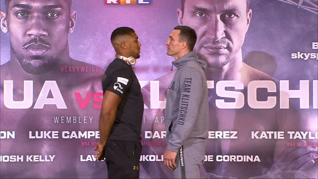 wladimir klitschko says he's already predicted how his fight against his young british rival anthony joshua will pan out on saturday the two... - world sports championship stock videos & royalty-free footage