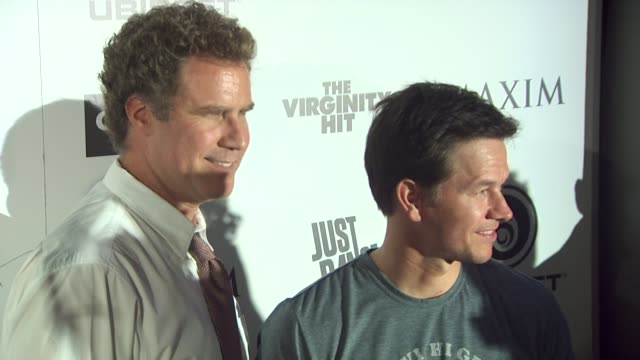 Wll Ferrell Mark Wahlberg at the Maxim Ubisoft And Sony Pictures Celebrate The Cast Of 'The Other Guys' at San Diego CA
