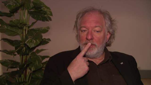 wolfgang becker on how he chose his topic at the 59th berlin film festival deutschland '09 interviews at berlin - deutschland stock videos & royalty-free footage