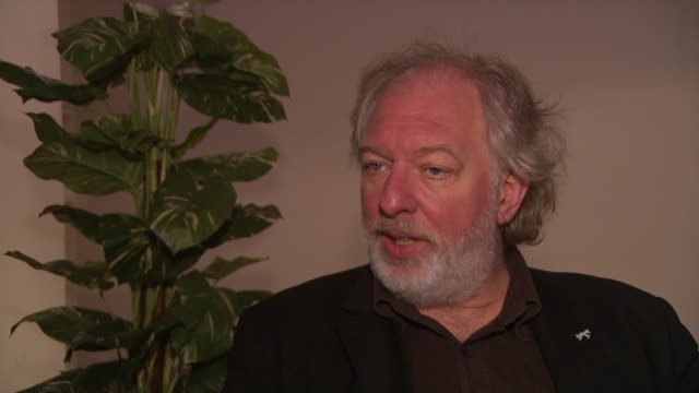 wolfgang becker on how he got involved at the 59th berlin film festival deutschland '09 interviews at berlin - deutschland stock videos & royalty-free footage