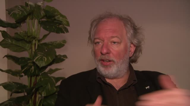 wolfgang becker on what he thinks the project stands for at the 59th berlin film festival deutschland '09 interviews at berlin - deutschland stock videos & royalty-free footage