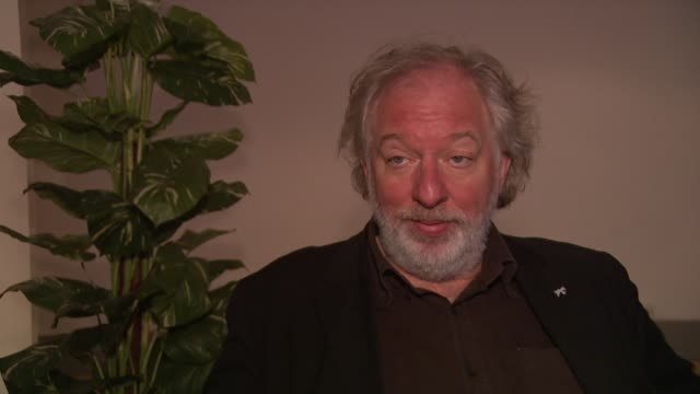 wolfgang becker on whether there was a battle of egos about where their shorts would appear in the film at the 59th berlin film festival deutschland... - deutschland stock videos & royalty-free footage
