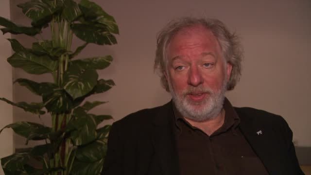 wolfgang becker on whether there was any communication between the directors at the 59th berlin film festival deutschland '09 interviews at berlin - deutschland stock videos & royalty-free footage