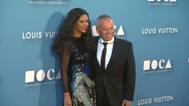 wolfgang puck and gelila assefa at the museum of contemporary art, los angeles annual gala presented by louis vuitton at the geffen contemporary at... - wolfgang puck stock videos & royalty-free footage
