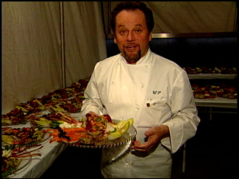 wolfgang puck at the 1999 academy awards governor's ball at the shrine auditorium in los angeles, california on march 21, 1999. - wolfgang puck stock videos & royalty-free footage