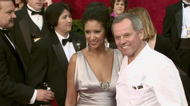 wolfgang puck at the 2008 academy awards at the kodak theatre in hollywood, california on february 24, 2008. - wolfgang puck stock videos & royalty-free footage