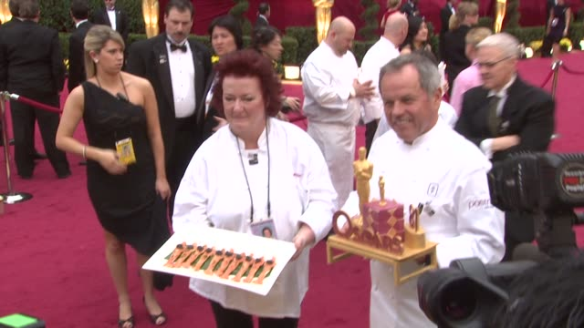 wolfgang puck at the 81st academy awards arrivals at los angeles ca. - wolfgang puck stock videos & royalty-free footage