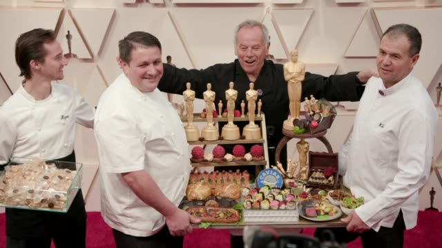 wolfgang puck at the 92nd annual academy awards at dolby theatre on february 09, 2020 in hollywood, california. - wolfgang puck stock videos & royalty-free footage