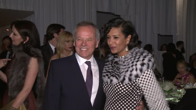 wolfgang puck, gelila assefa at moca's 35th anniversary gala presented by louis vuitton at the geffen contemporary at moca at the geffen contemporary... - wolfgang puck stock videos & royalty-free footage