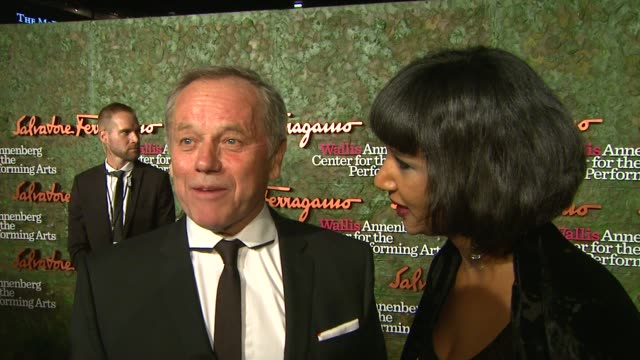 wolfgang puck on event at wallis annenberg center for the performing arts inaugural gala presented by salvatore ferragamo on 8/17/13 in los angeles,... - wolfgang puck stock videos & royalty-free footage