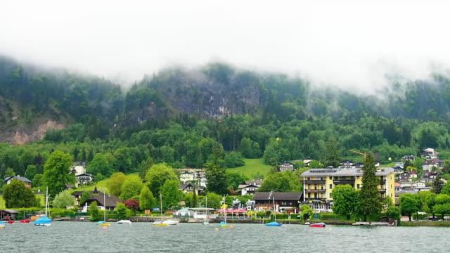 wolfgang see lake,austria - salzkammergut stock videos and b-roll footage