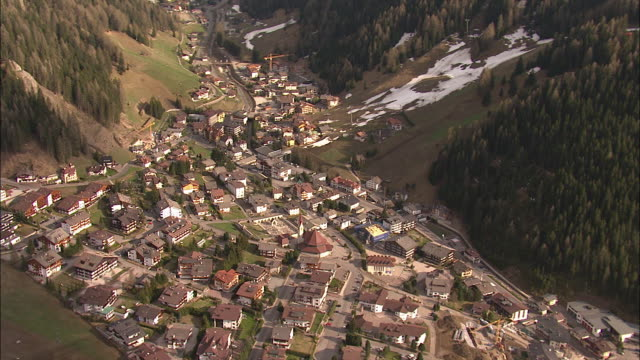 wolkenstein - val gardena - val gardena video stock e b–roll