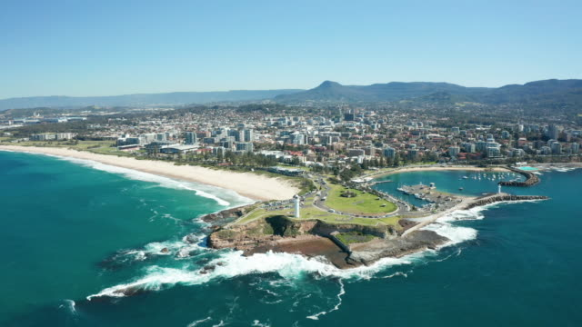 wollongong, australia - lighthouse stock videos & royalty-free footage