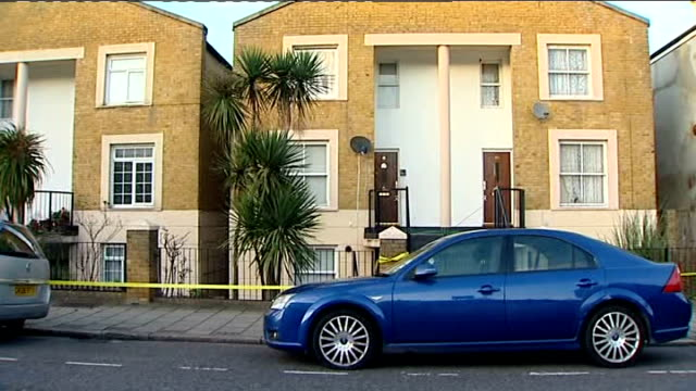 woman abducted in hackney found murdered; england: london: hackney: dalston: ext general view of house from where murder victim kirsty treloar was... - murder victim stock videos & royalty-free footage