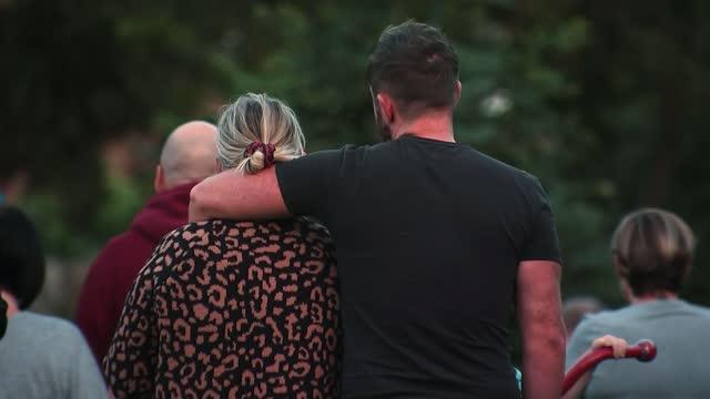 woman and three children found dead at house in killamarsh: man arrested on suspicion of murder; england: derbyshire: killamarsh: chandos crescent:... - itv news at ten stock videos & royalty-free footage