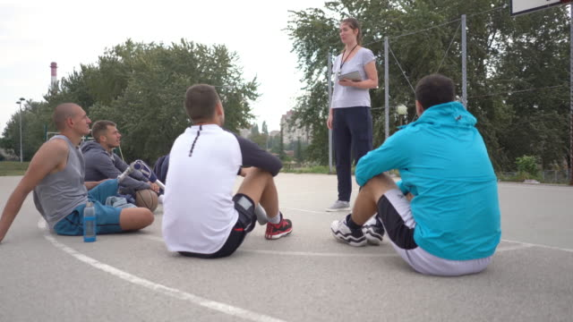 woman coaching men - role reversal stock videos & royalty-free footage