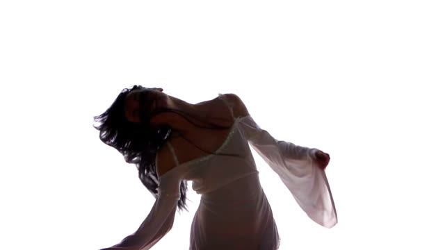 woman dancing - model object stock videos & royalty-free footage