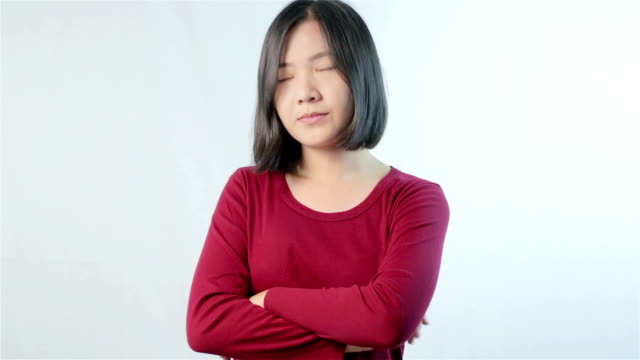 woman disappointed - negatives stock videos & royalty-free footage