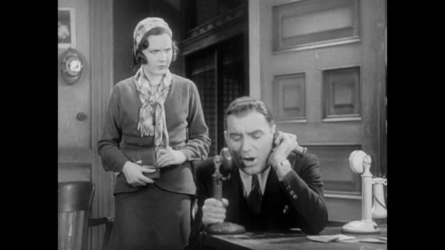 vidéos et rushes de 1931 woman discovers her fiance used their wedding money to bribe news story source - social media
