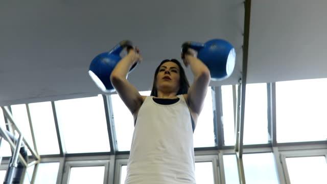 woman doing a cross training - cross training stock videos & royalty-free footage