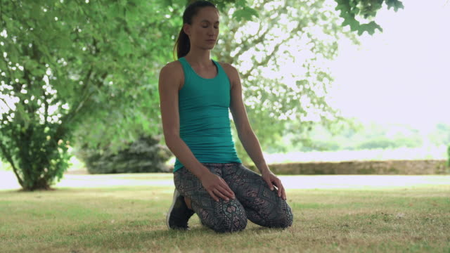 woman doing plank - bodyweight training stock videos & royalty-free footage