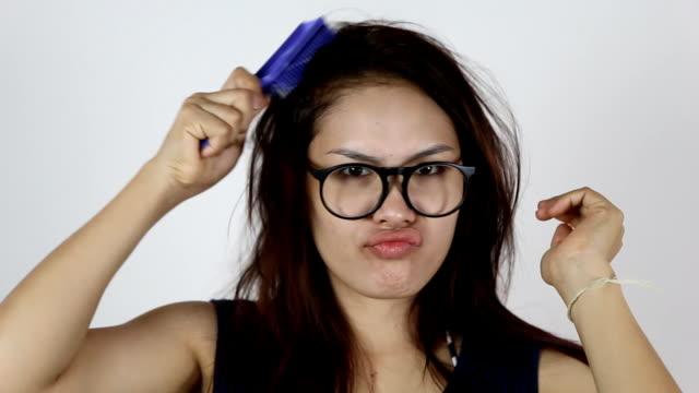 Woman Hair Comb