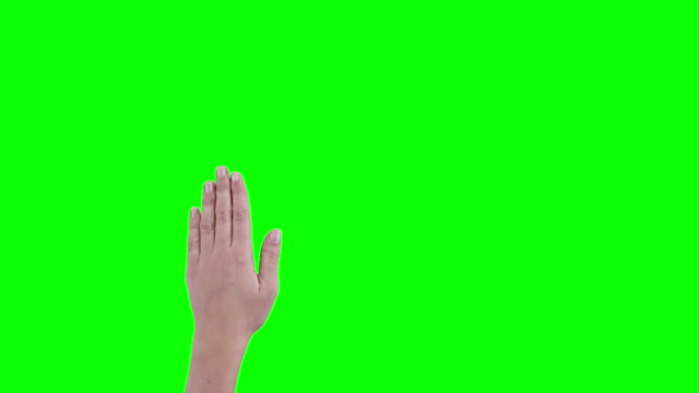 stockvideo's en b-roll-footage met woman hand gesture - hand