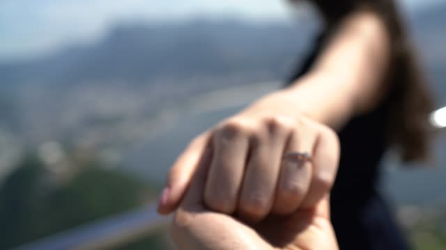 woman holding hands and looking at view - pardo brazilian stock videos & royalty-free footage