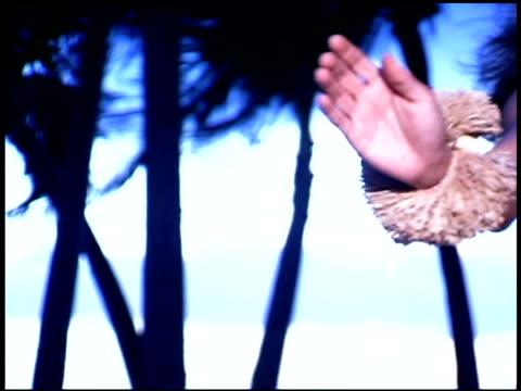 woman hula dancing - hawaiian ethnicity stock videos & royalty-free footage