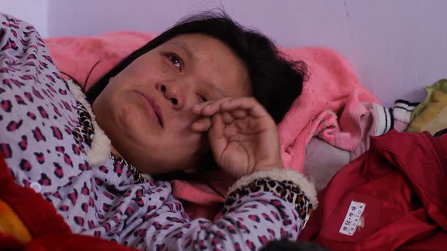 a woman in china has told sky news how she was forcibly taken from her home to a hospital where she was made to abort her child at 6 months the... - prenatal care stock videos & royalty-free footage