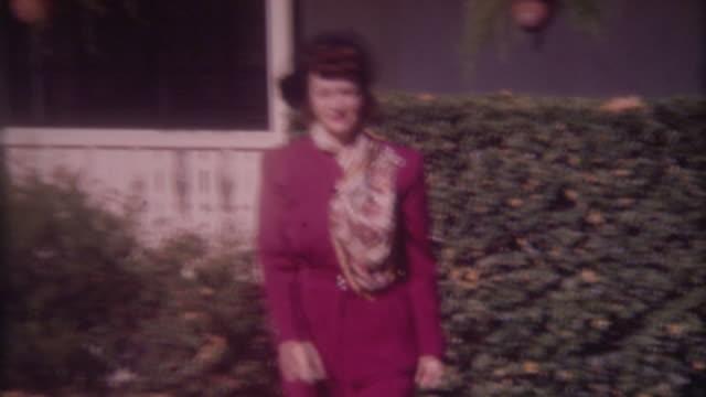 Woman in Fur 1940's
