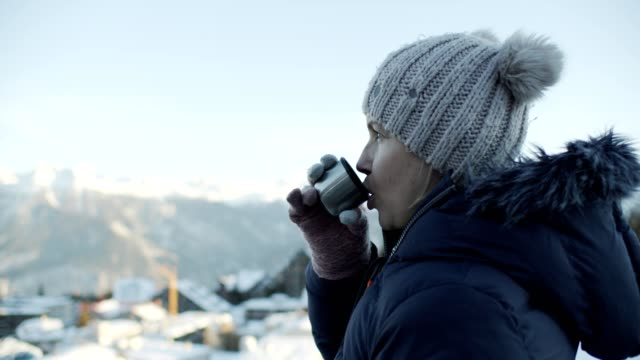 woman in mountains - reusable stock videos & royalty-free footage