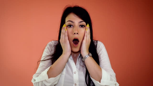 woman in shock - shock stock videos & royalty-free footage