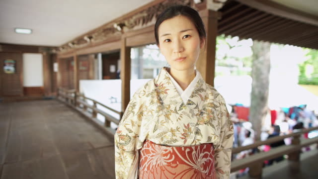 woman in temple - shibamata stock videos & royalty-free footage