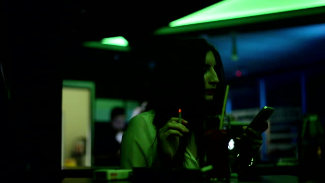 Woman in the club