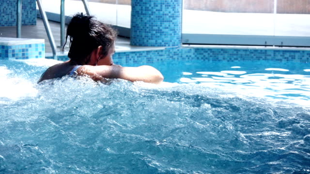Woman in the spa (HD)