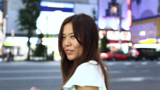 woman in tokyo city streets - only japanese stock videos & royalty-free footage
