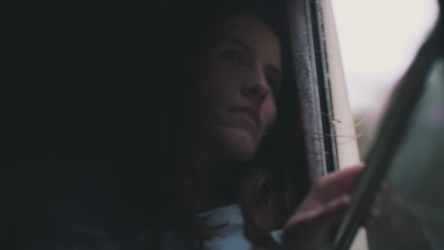 woman in train - reportage stock videos & royalty-free footage