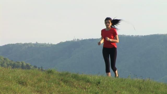 HD: Woman Jogging